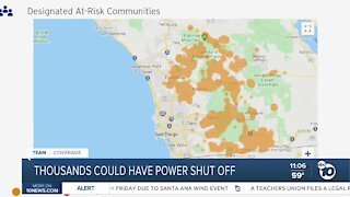 Thousands could have power shut off