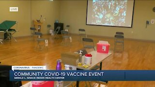 Milwaukee clinic works to vaccinate American Indian population