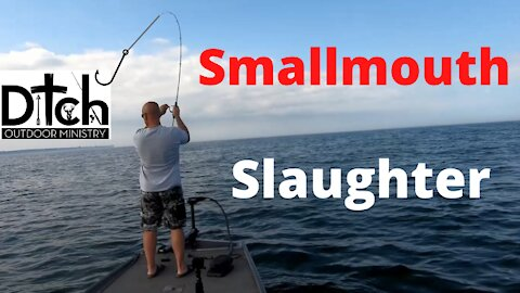 St Lawrence River Smallmouth Slaughter