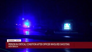 Person in critical condition after officer involved shooting