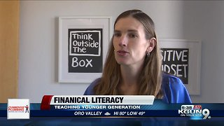 Financial literacy month, reaching the younger generation