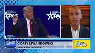 WATCH: COREY LEWANDOWSKI ON TRUMP'S CPAC SPEECH