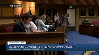 State Senate Committee passes a bill that would raise unemployment benefits