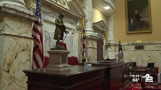 Changes at Maryland's State House as they prepare for the 2021 legislative session