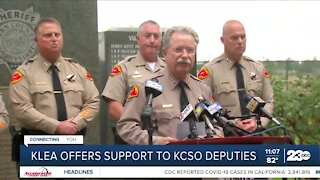 Local organizations step up to lend support to KCSO deputies