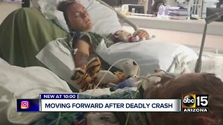 Sisters moving forward after deadly wrong-way crash in Holbrook