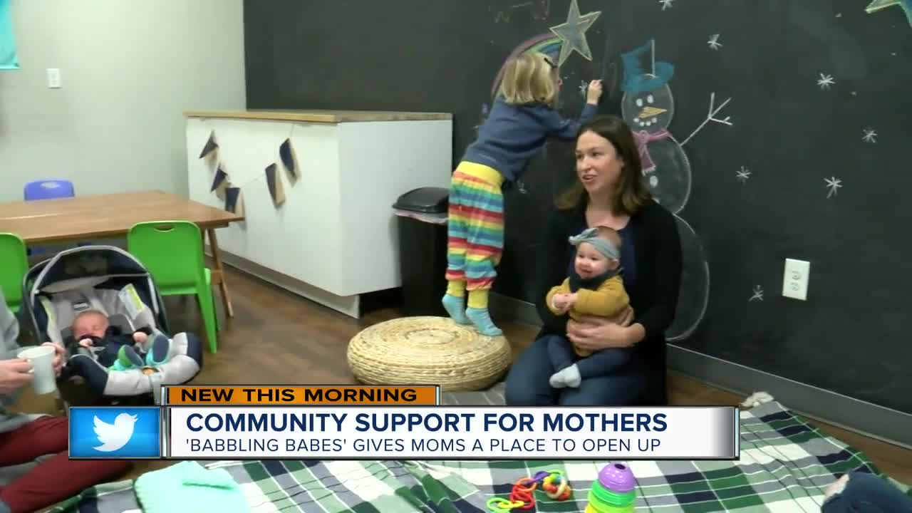 Local woman creates community for mothers with newborns