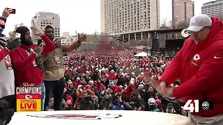 Chiefs rally drum ceremony