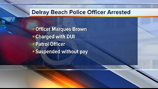 Delray Beach police officer arrested on DUI charge