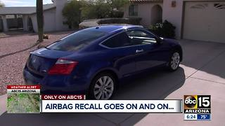 Airbag recall letters drawing questions for Let Joe Know