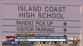 No credible threat at Island Coast H.S.