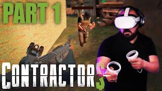Oculus Quest 2 - Beginner Tries Contractors VR