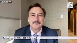 Twitter bans My Pillow CEO Mike Lindell