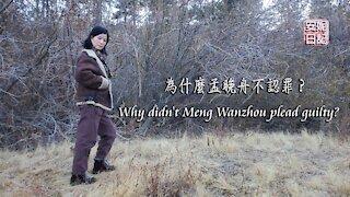 【安妮日記】為什麼孟晚舟不認罪?Why didn't Meng Wanzhou plead guilty?