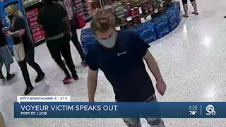 Victim of Publix peeping Tom speaks about incident