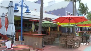 Fort Myers Beach businesses monitoring Tropical Storm Laura