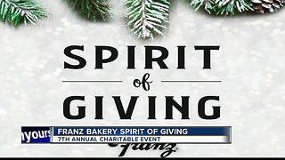 Franz Bakery Spirit of Giving