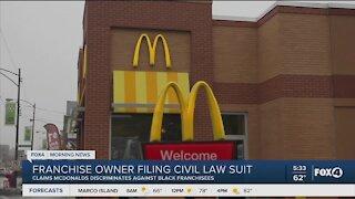 McDonalds franchise owner files civil law suit