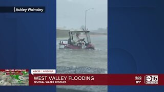 West Valley hit hard by monsoon storms