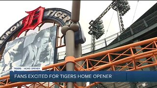 Fans excited for Tigers Home Opener