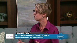 Helping Nourish The Community // Food Bank of the Rockies