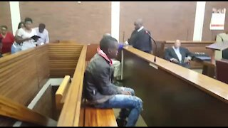 SOUTH AFRICA - Johannesburg. Vlakfontein accused court appearance (N7e)