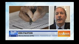 Texas Attorney General Ken Paxton on Election Integrity measures