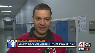 City Year honors Martin Luther King Jr. in day of service