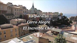 Valparaiso Alegre hill in Chile