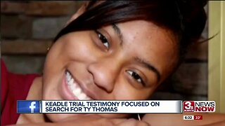 Keadle Trial Testimony Focused on Search for Tyler Thomas