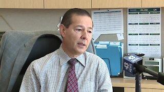 Jorge Cervantes, futuro administrador de la ciudad de Las Vegas