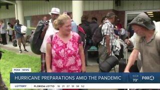 Hurricane preparations amid the pandemic