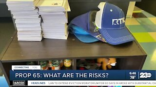 Prop. 65: What are the risks