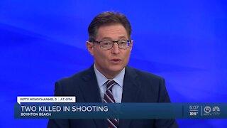 2 men shot early Saturday in Boynton Beach