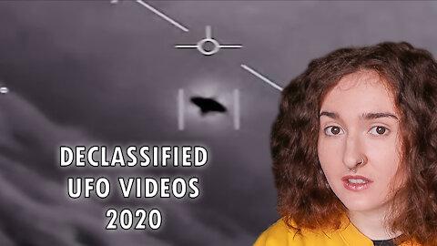 Pentagon officially declassifies 'UFO' videos