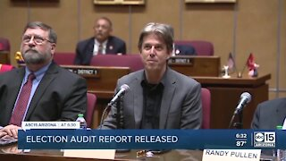 Maricopa County election audit report released