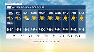 23ABC Weather for Thursday, September 9, 2021