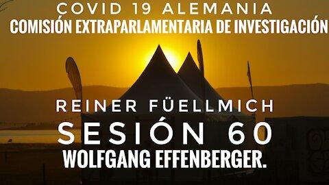 SESIÓN 60 COMISIÓN DE JURISTAS DE ALEMANIA - Wolfgang Effenberger