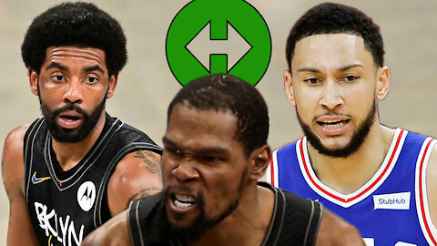 Kyrie Irving Offered In Trade For Ben Simmons But Kevin Durant Said HELL NO, Shut Down Trade