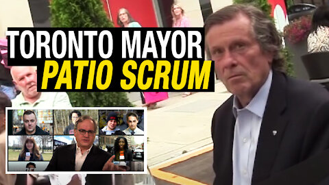 EZRA REACTS: Toronto mayor confronted by angry citizen over lockdown policies