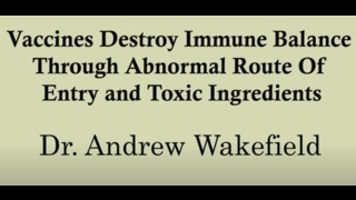 Vaccines Destroy Immune Balance Through Abnormal Route Of Entry and Toxic Ingred
