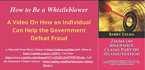 How to Be a Whistleblower