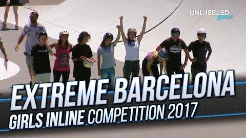 Girls Inline Skating at Extreme Barcelona 2017