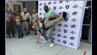 WWE superstar thanks Las Vegas police