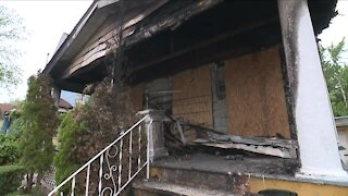 Arson suspected in East Cleveland house fire that hospitalized elderly couple
