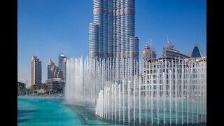 Dubai Mall, & The Burj Khalifa,World's Largest mall