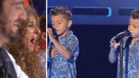 Twins, One Voice: Their Love Song Will Go CRACK The Jury!
