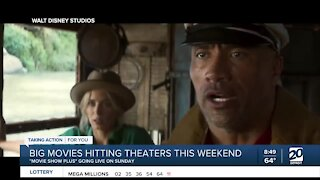 Big films in theaters as 'Movie Show Plus' goes live