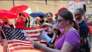 Look Ahead America Rally DC: American Gulag Speech by Christina of Patriots Soapbox
