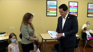 Secretary of State Frank LaRose honors local business owner after connecting through social media